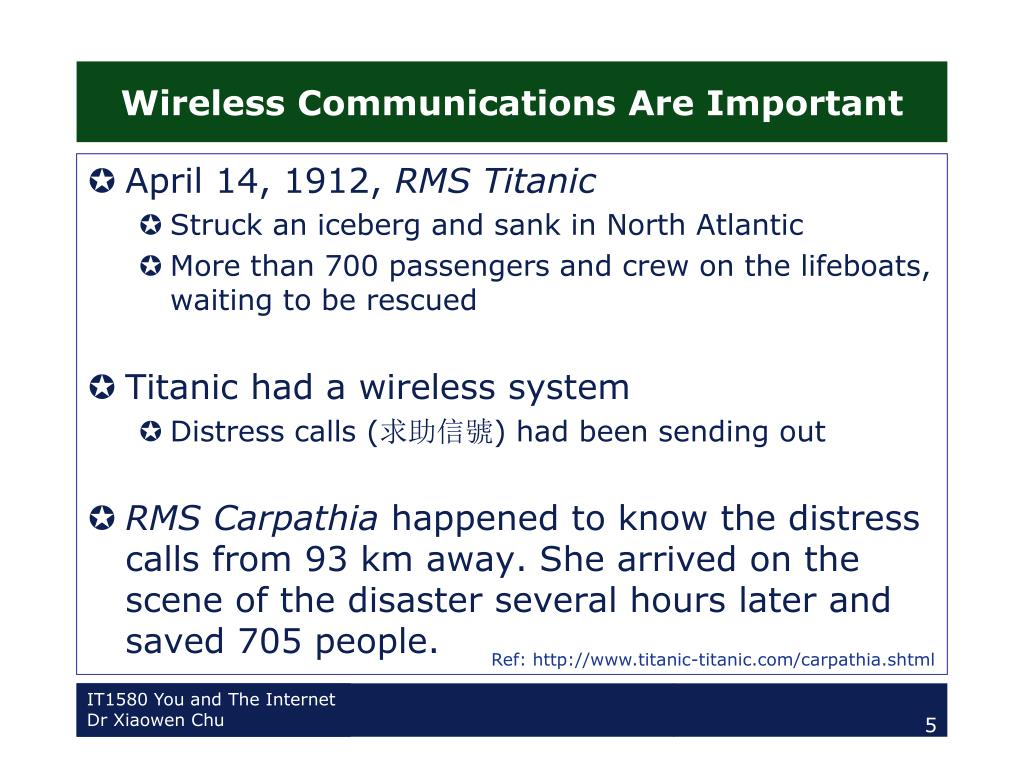 Wireless Communications Are Important