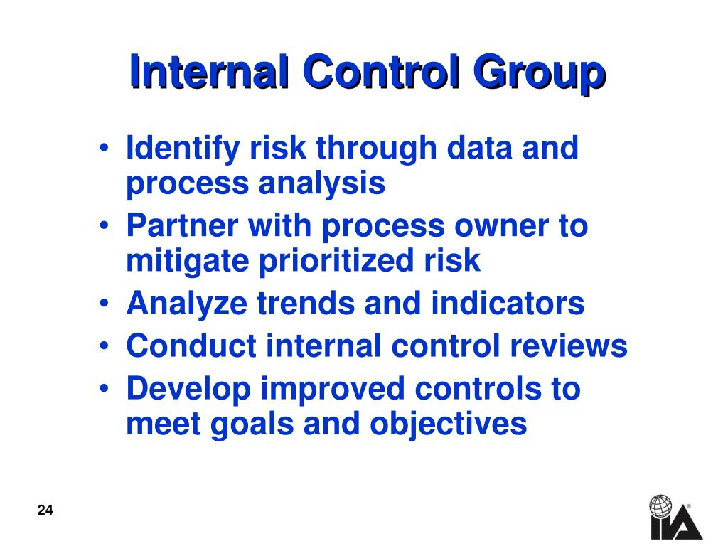Internal Control Group