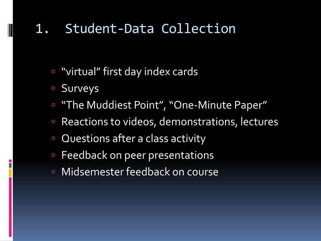 1.  Student-Data Collection