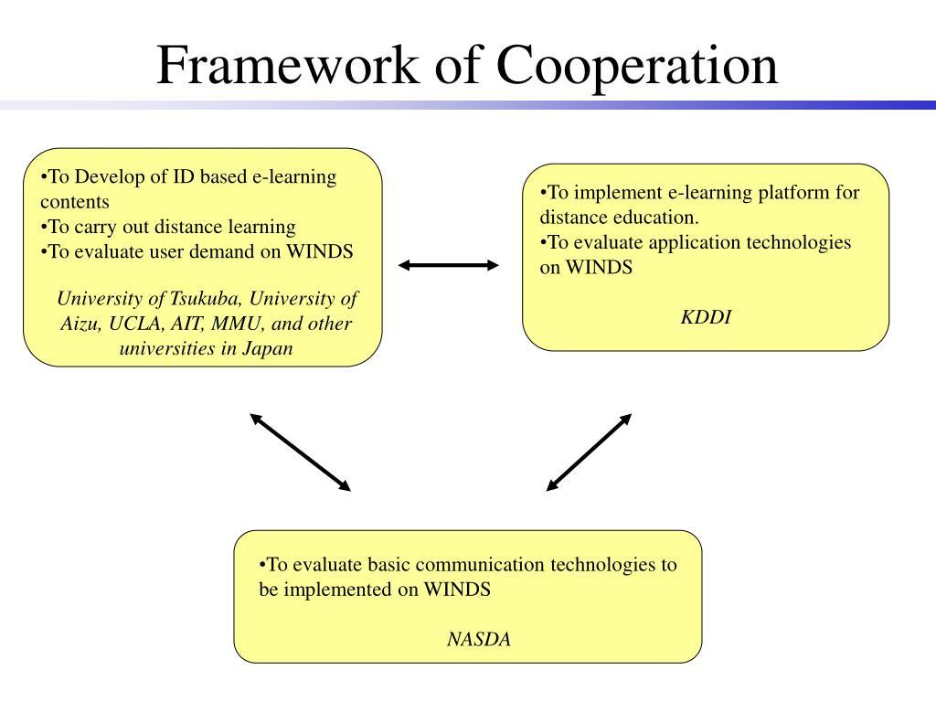 Framework of Cooperation