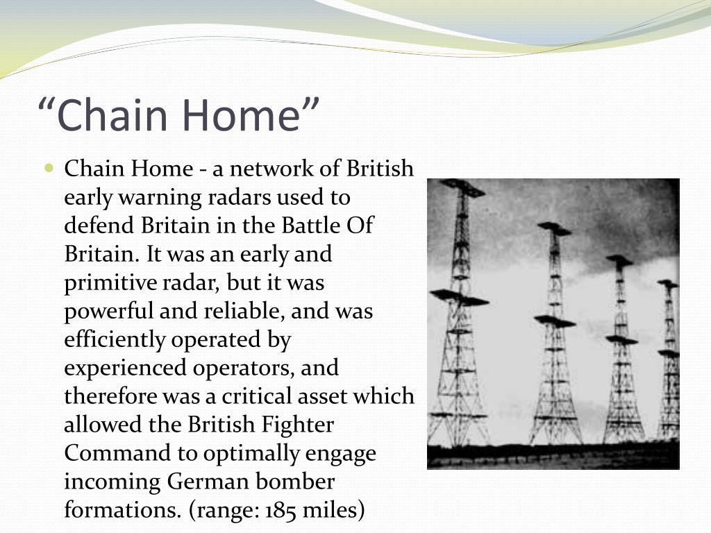 """""""Chain Home"""""""