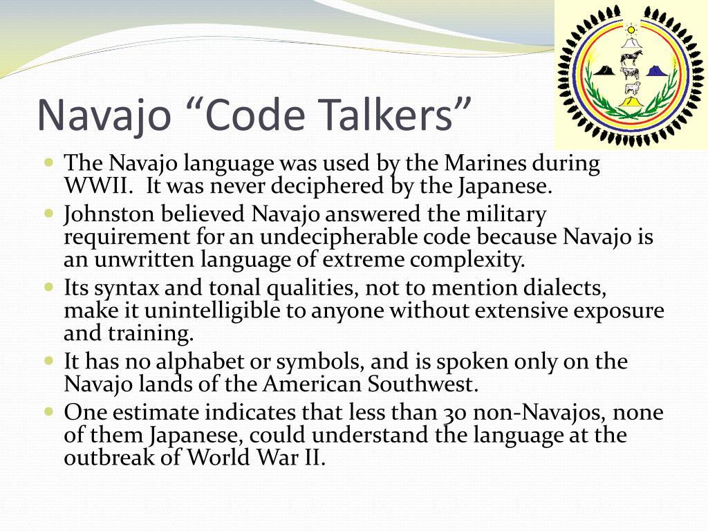 "Navajo ""Code Talkers"""