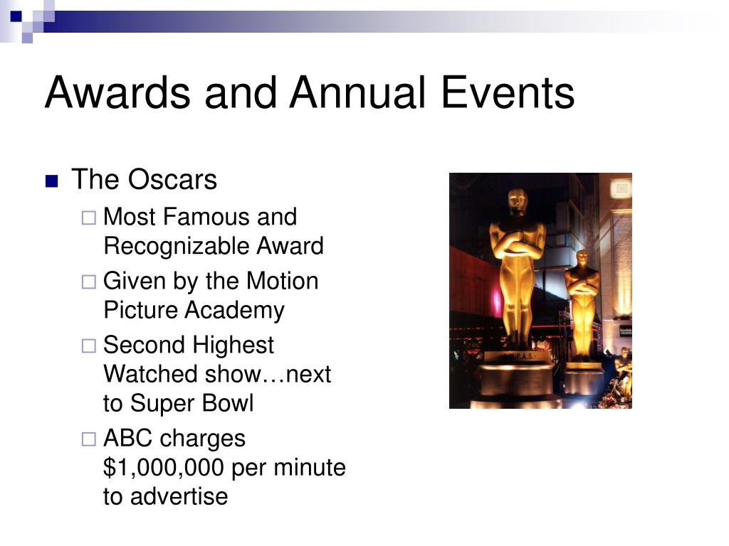 Awards and Annual Events