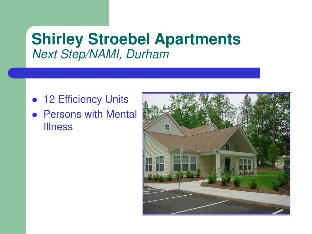 Shirley Stroebel Apartments