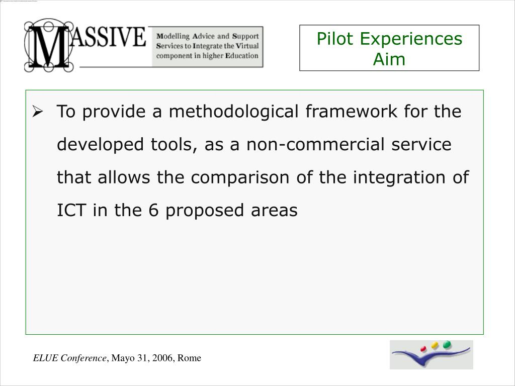Pilot Experiences Aim