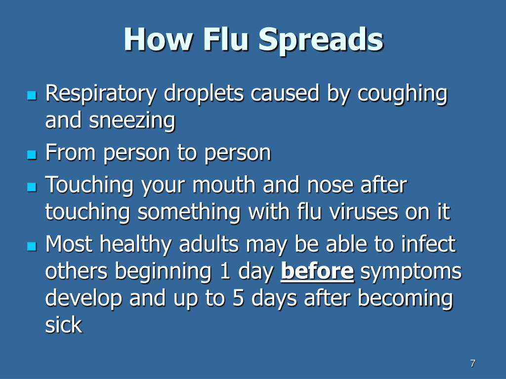 How Flu Spreads