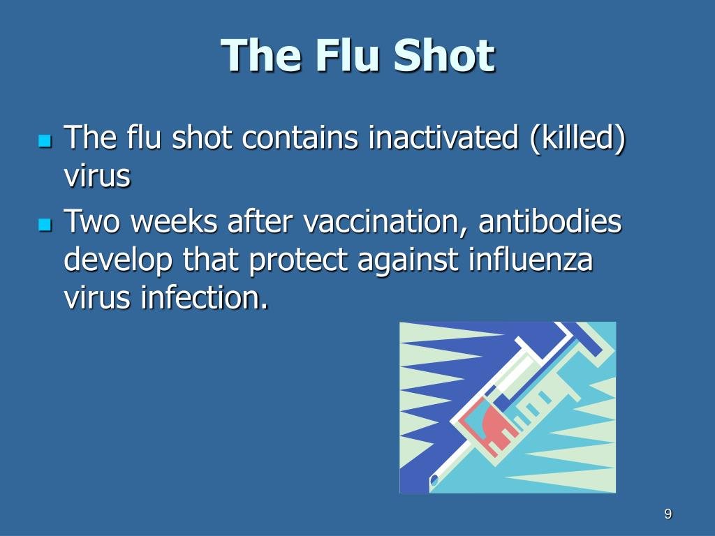 The Flu Shot