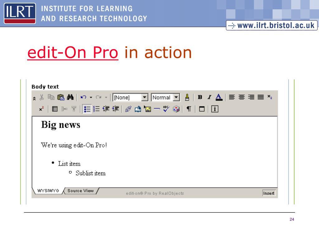 edit-On Pro