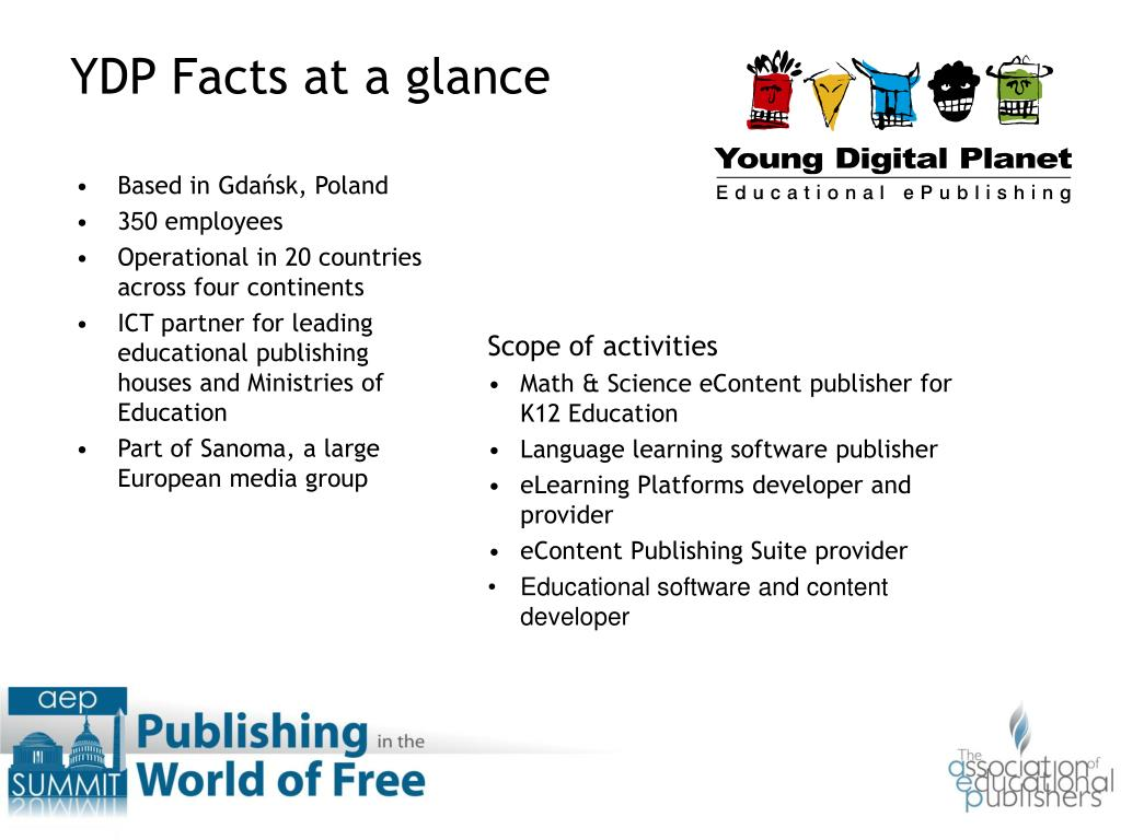 YDP Facts at a glance