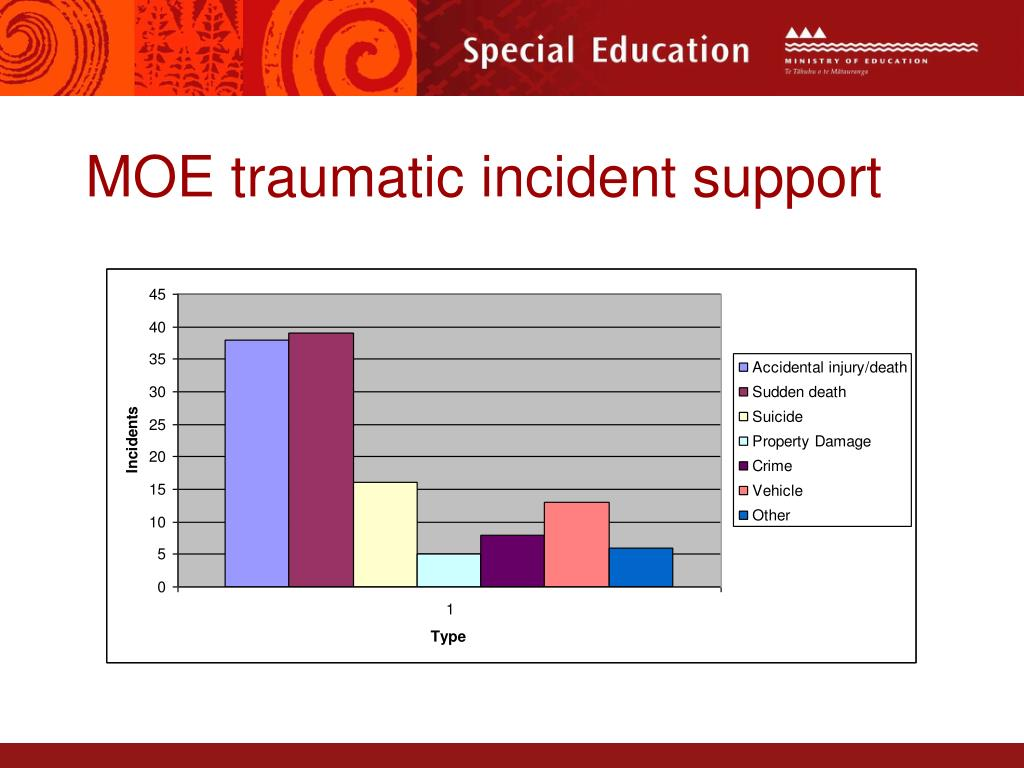 MOE traumatic incident support