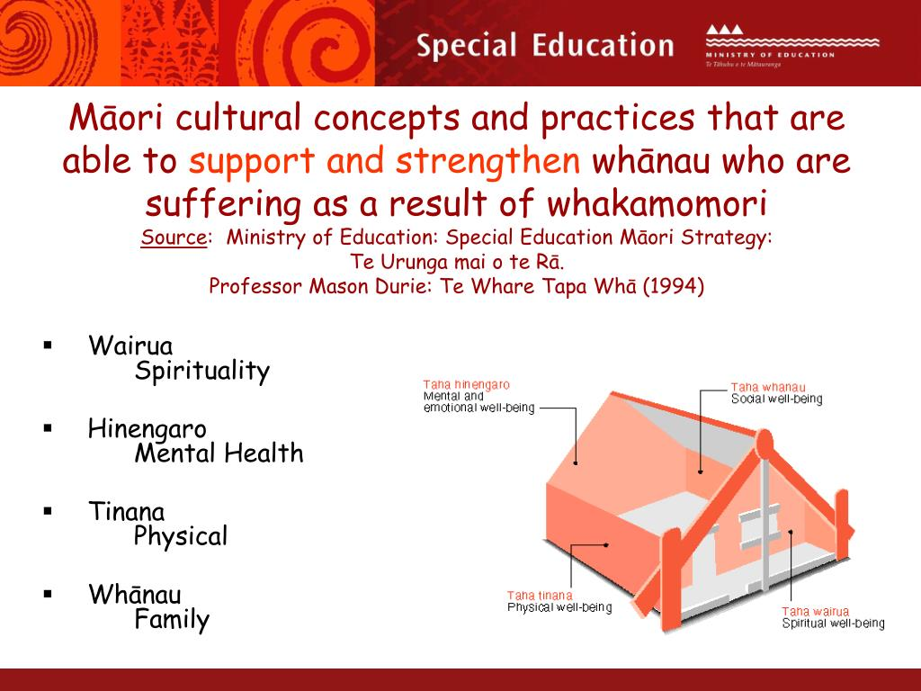 Māori cultural concepts and practices that are able to