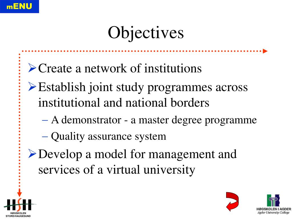 Create a network of institutions