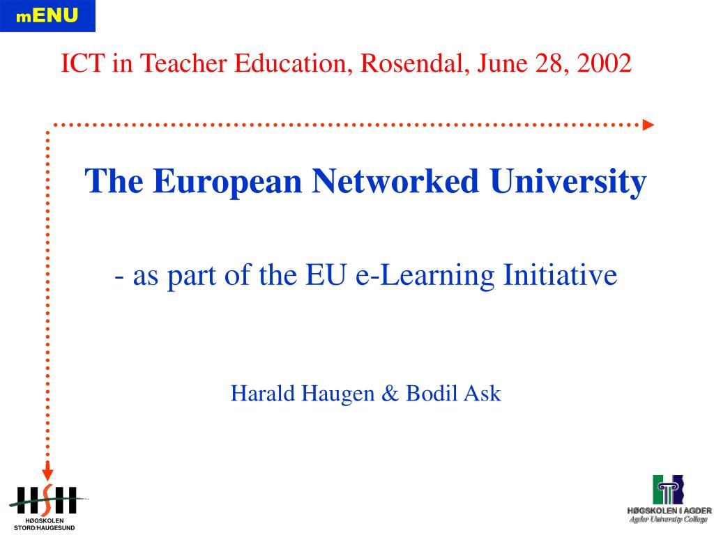 The European Networked University