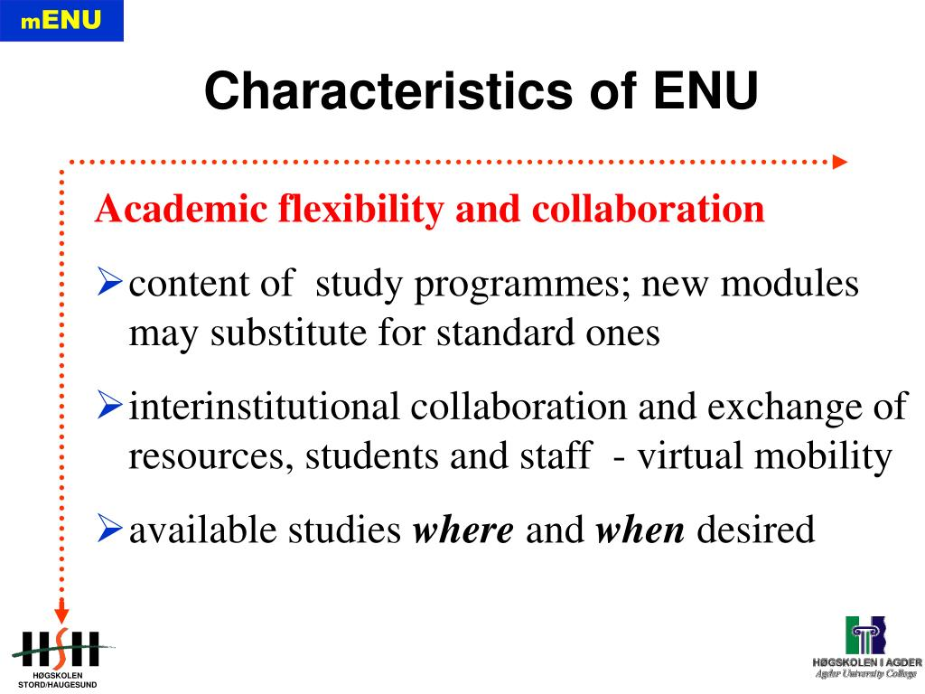 Academic flexibility and collaboration