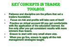 key concepts in trader toolbox
