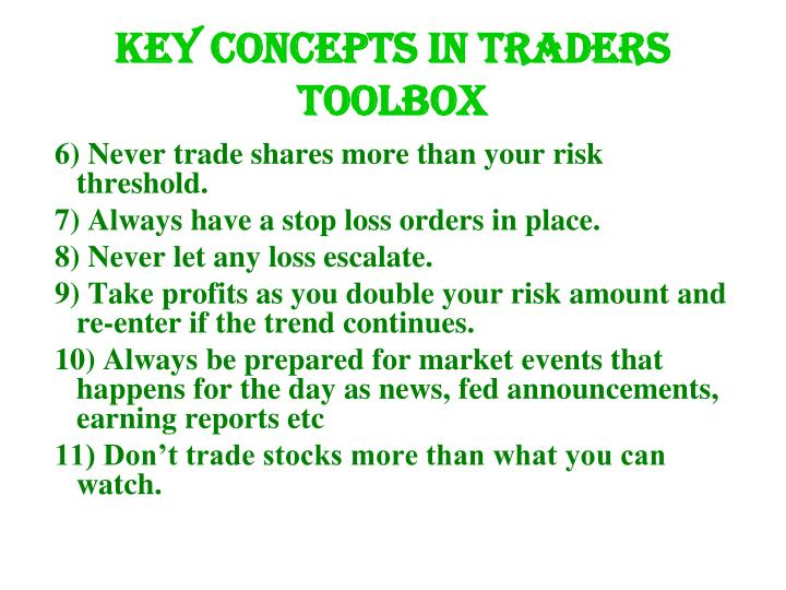 Key concepts in traders toolbox l.jpg