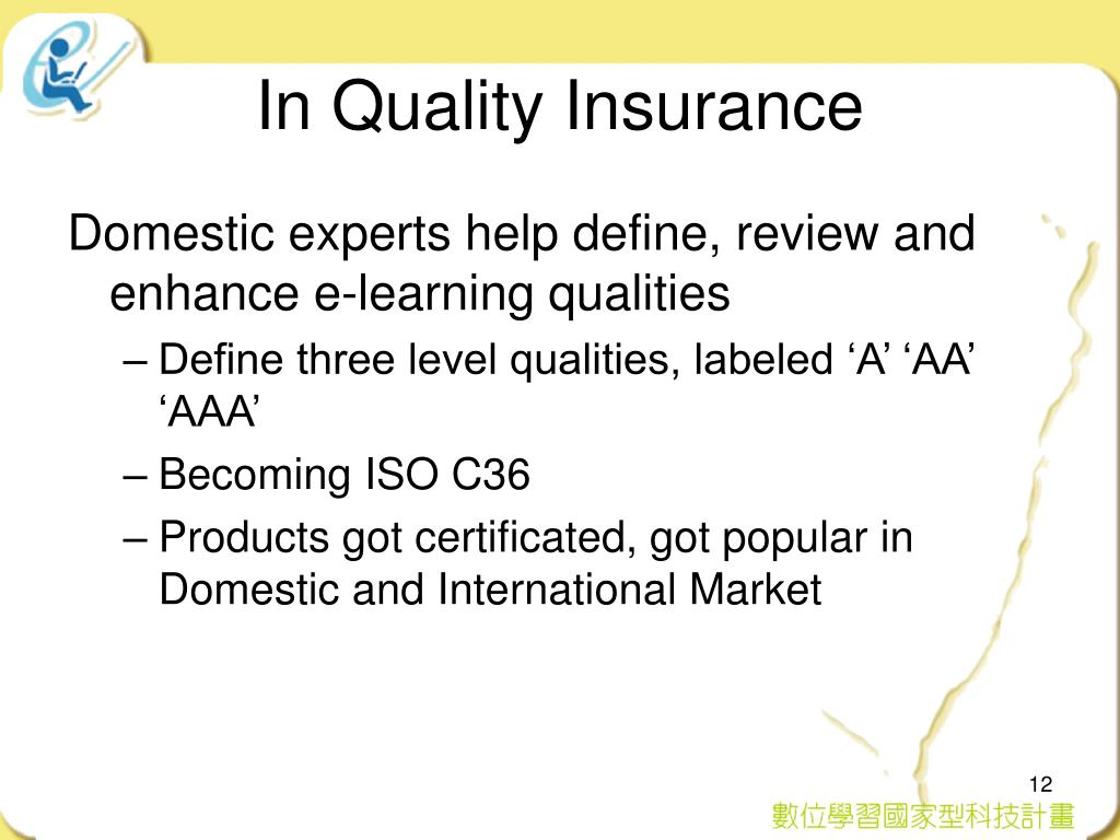 In Quality Insurance