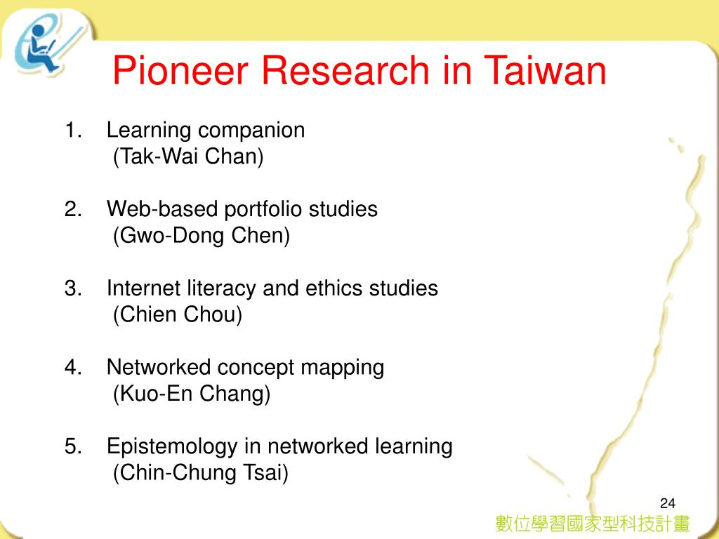 Pioneer Research in Taiwan