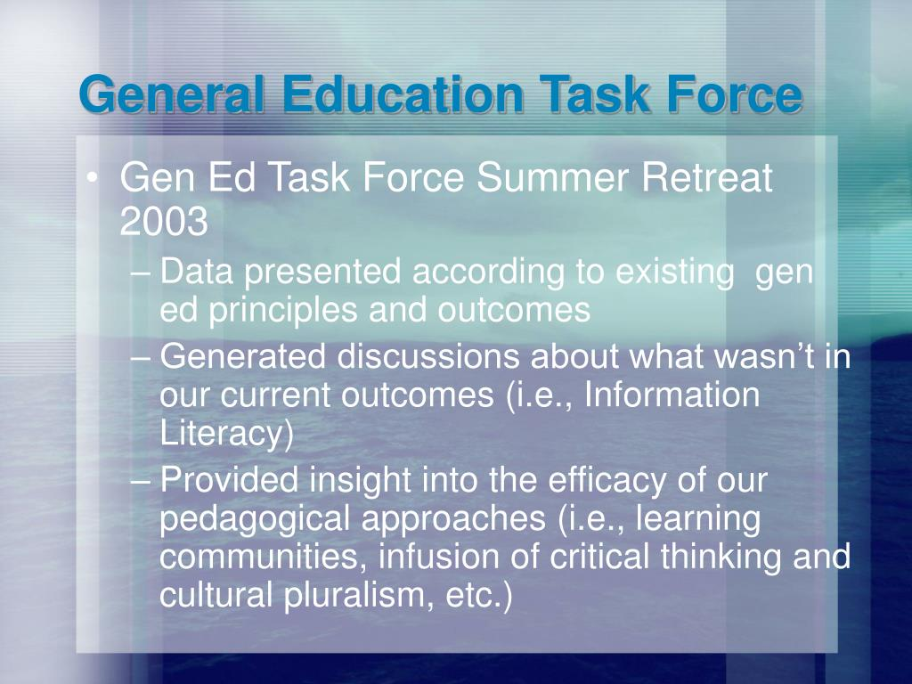 General Education Task Force