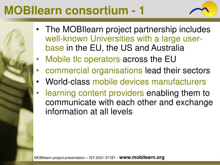 MOBIlearn consortium