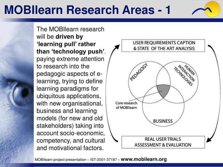 MOBIlearn Research Areas