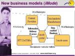 new business models imode