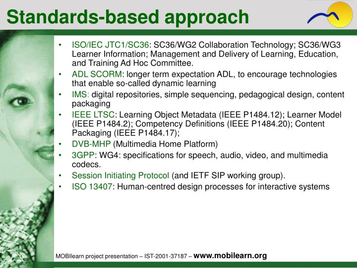 Standards-based approach