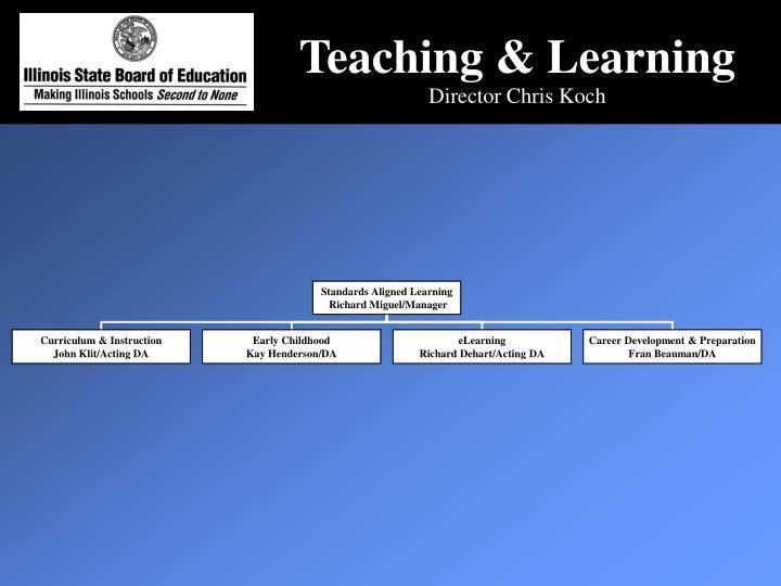 Teaching & Learning
