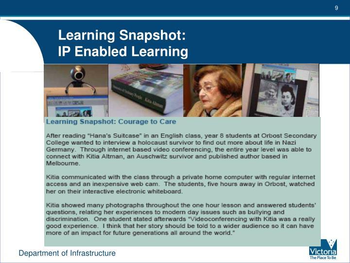 Learning Snapshot: