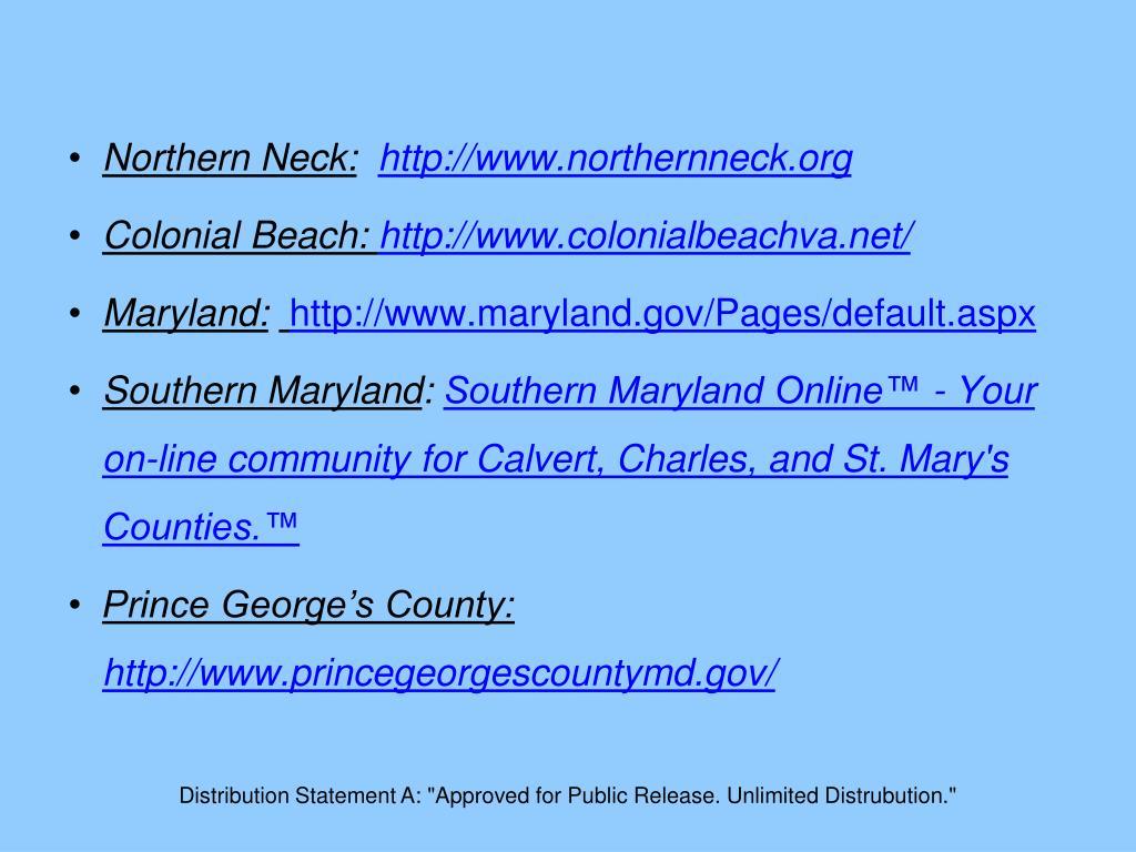 Northern Neck: