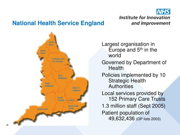 National health service england