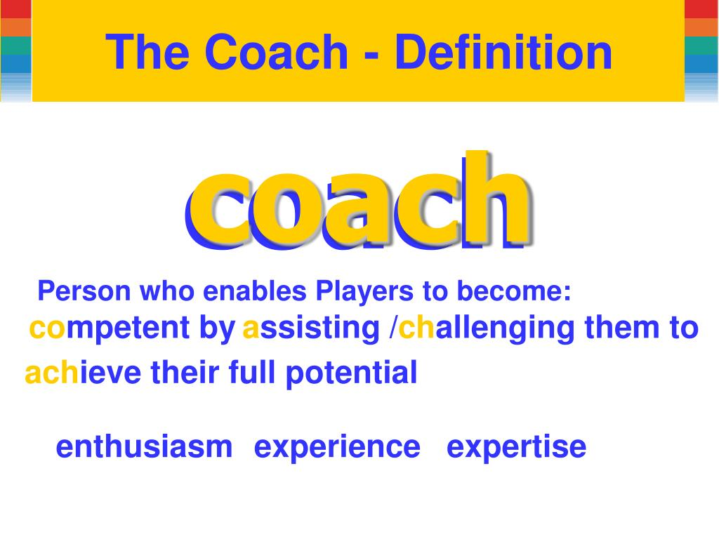 The Coach - Definition