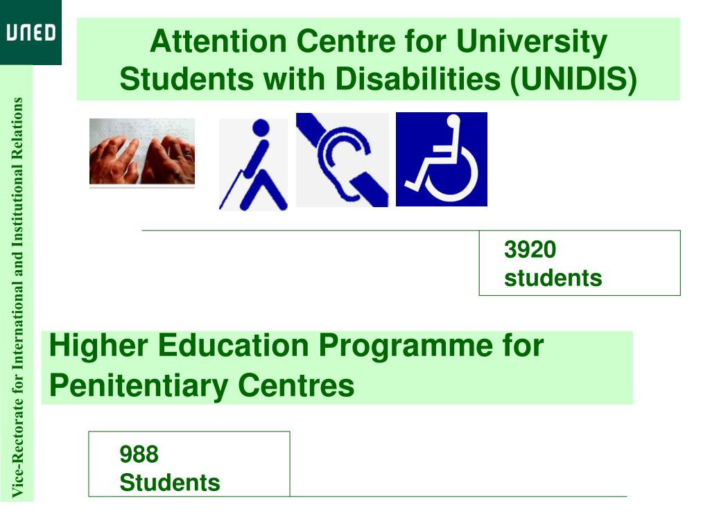 Attention Centre for University Students with Disabilities (UNIDIS)