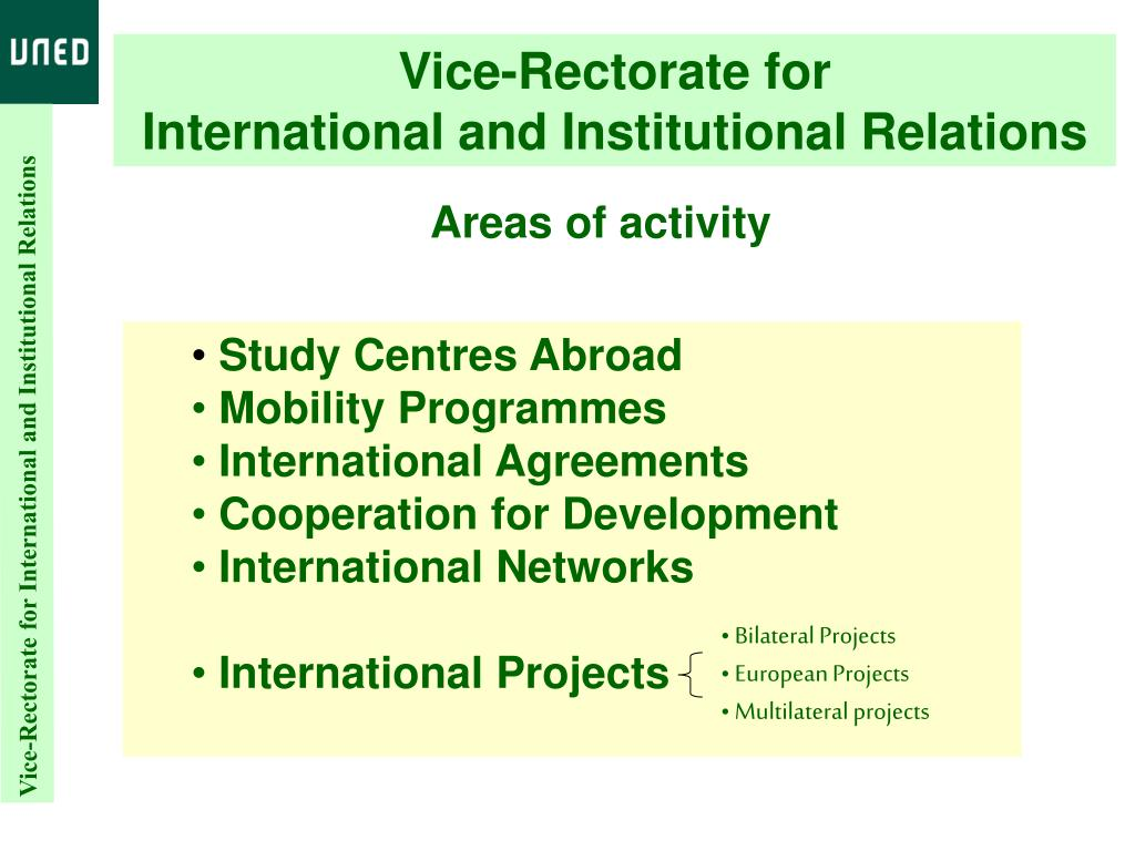 Vice-Rectorate for