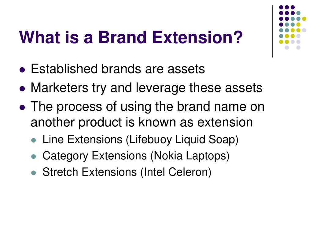What is a Brand Extension?