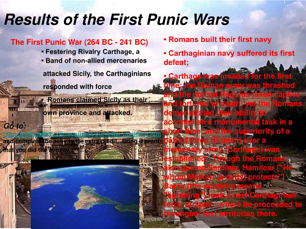 the punic wars and its significance The second punic war begins explain the significance of hamilcar barca in carthaginian politics a hamilcar's family his family were high-ranking nobles.