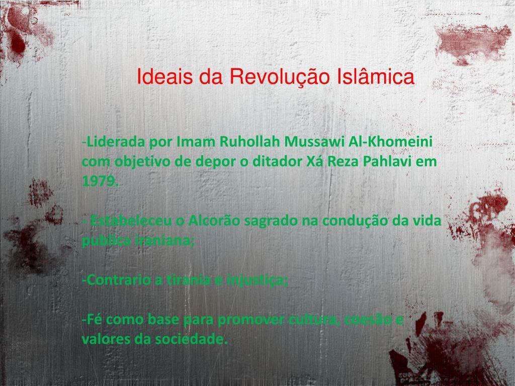 Ideais da Revolução Islâmica