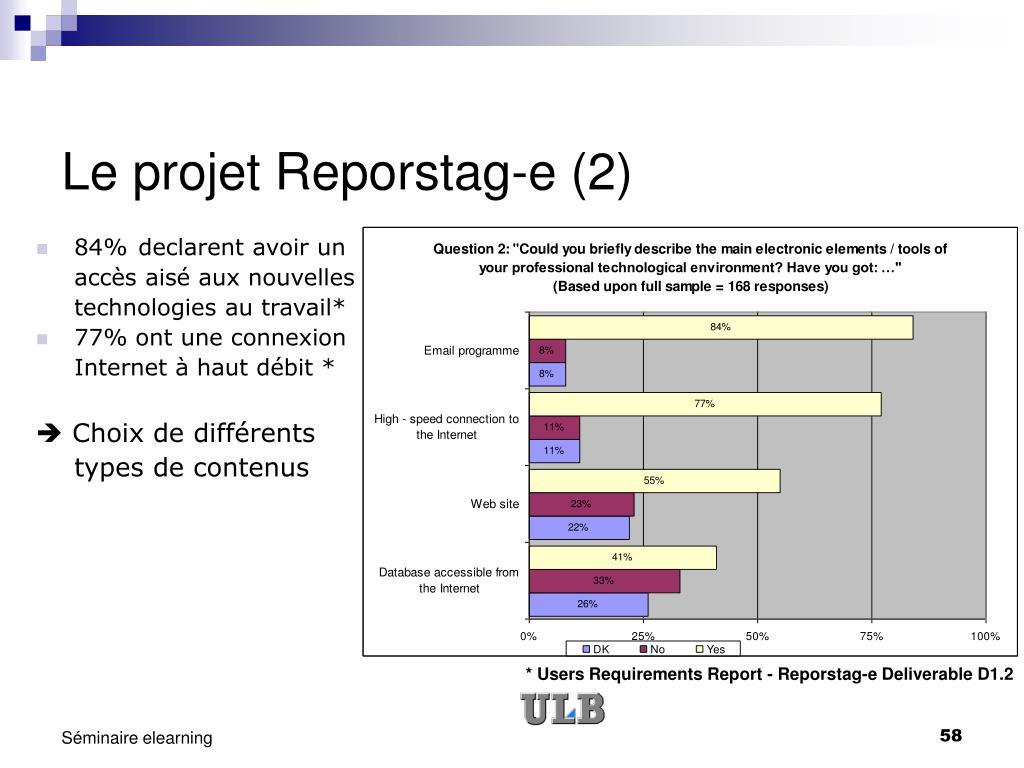 Le projet Reporstag-e (2)