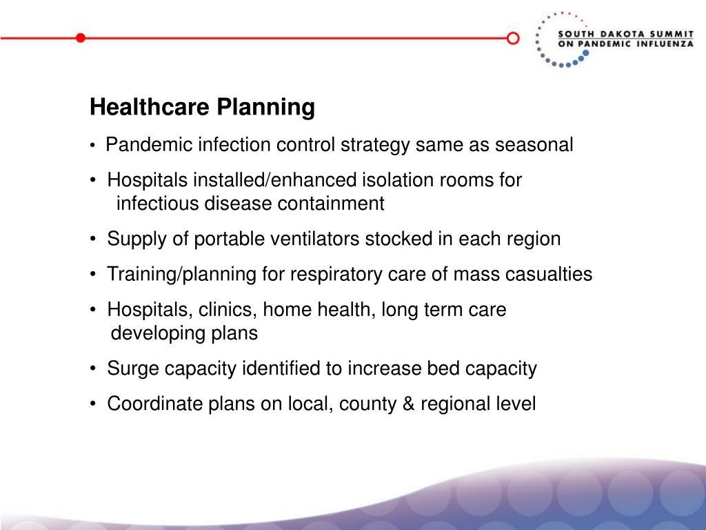 Healthcare Planning