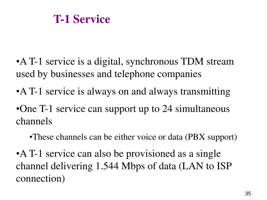 T-1 Service