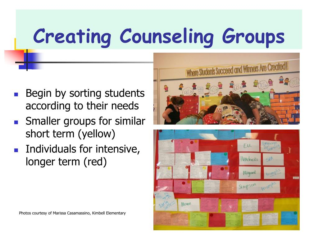 Creating Counseling Groups