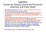 amer ka centers for disease control and prevention veterinary and public health