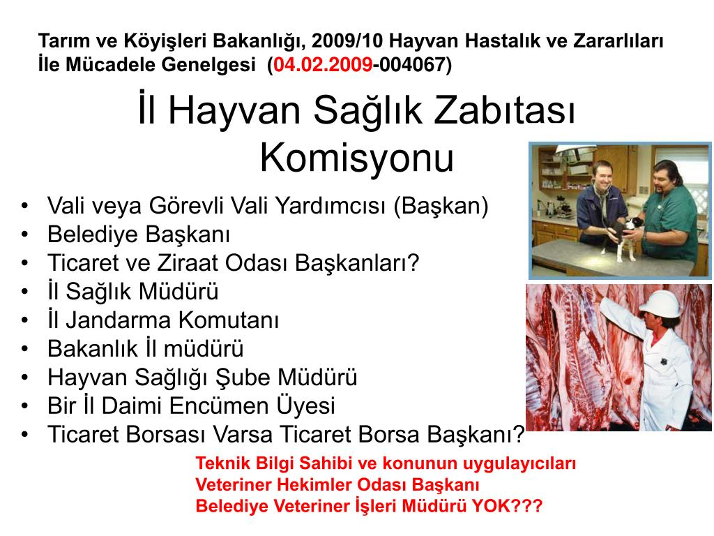 İl Hayvan Sağlık Zabıtası Komisyonu