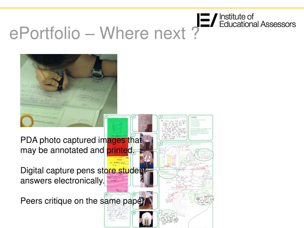 ePortfolio – Where next ?