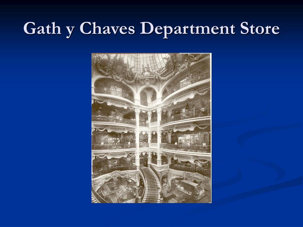 Gath y Chaves Department Store