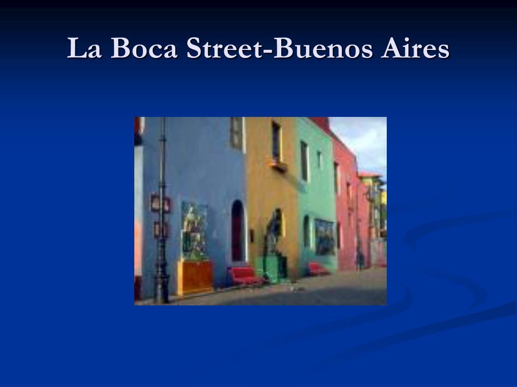 La Boca Street-Buenos Aires