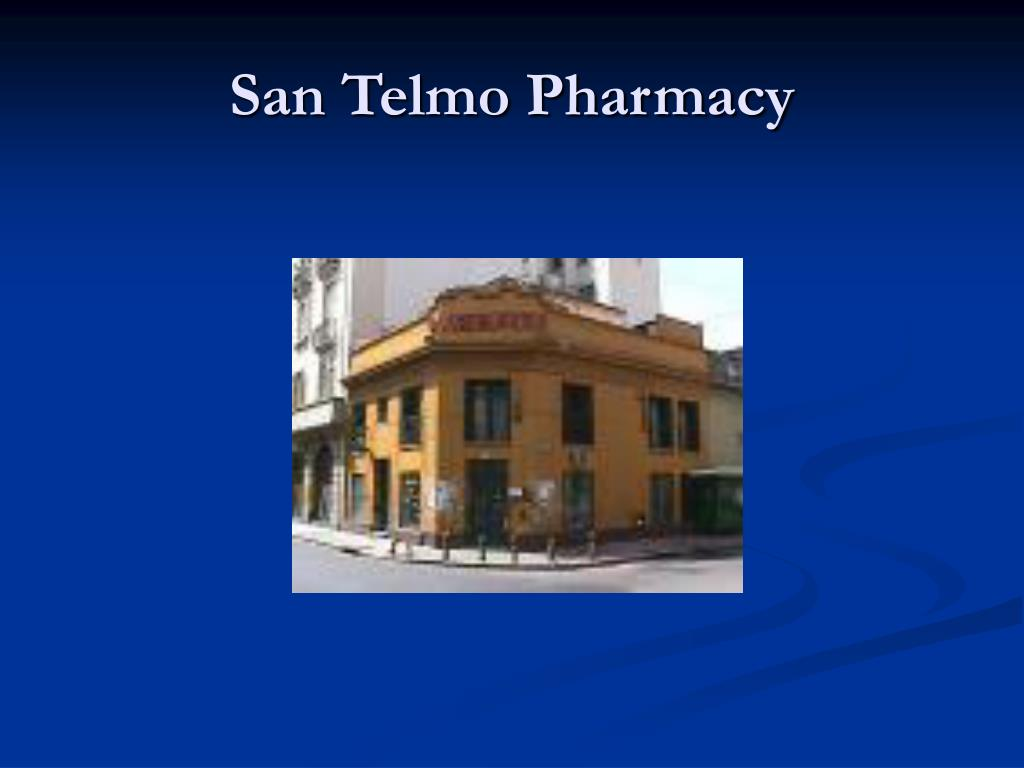 San Telmo Pharmacy