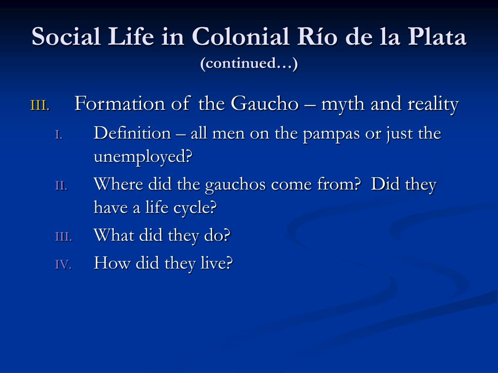 Social Life in Colonial