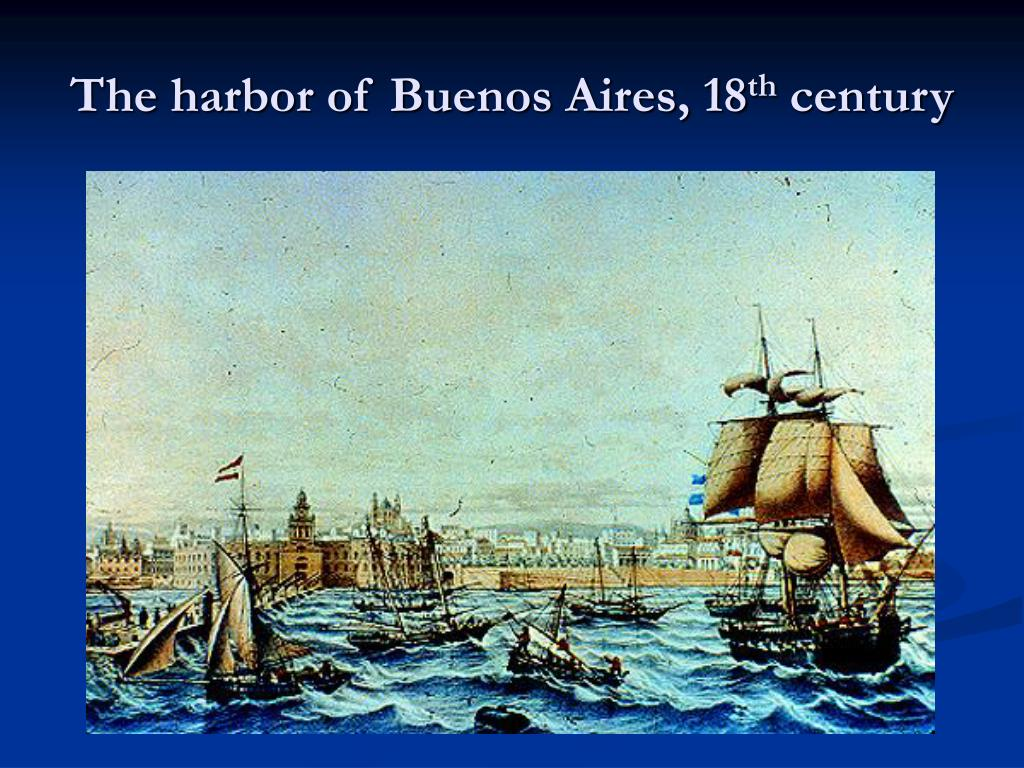 The harbor of Buenos Aires, 18
