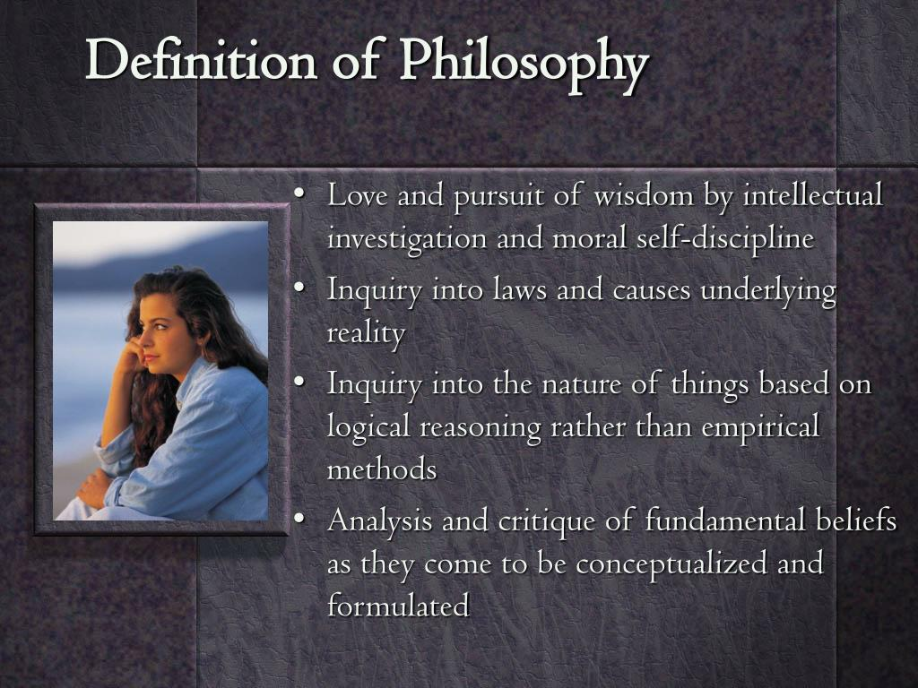 Definition of Philosophy